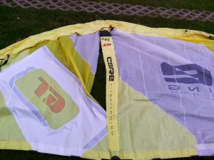 Oprava kite CORE GT